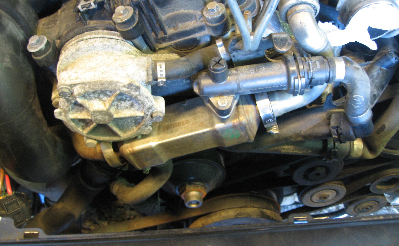 Auton vesipumppu rikki oireet